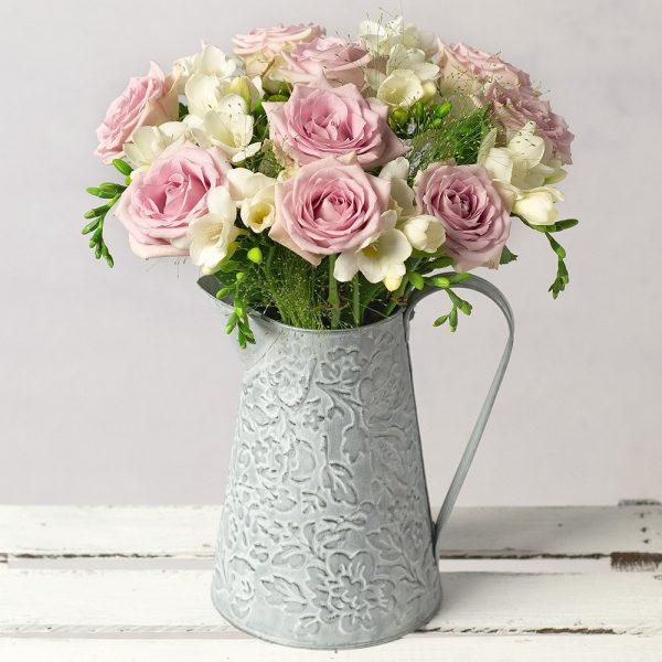 Freesias and Roses